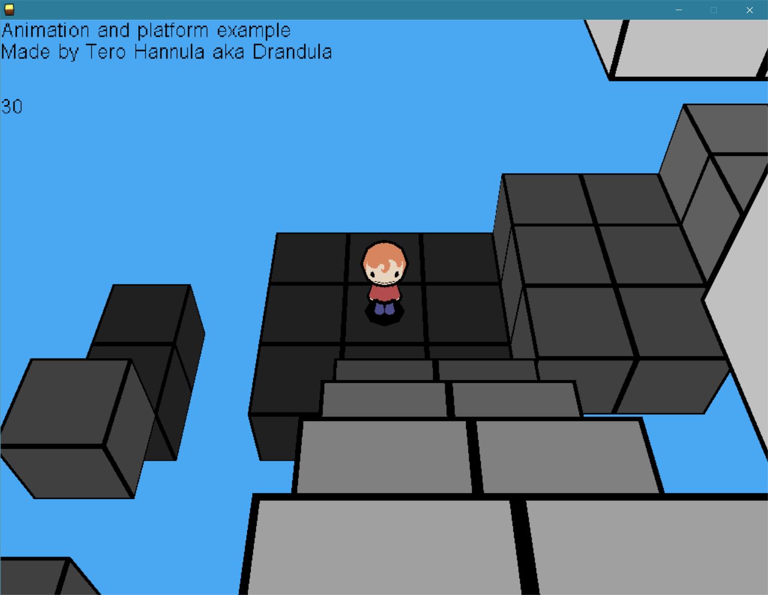 Animation Platform Example D3D9