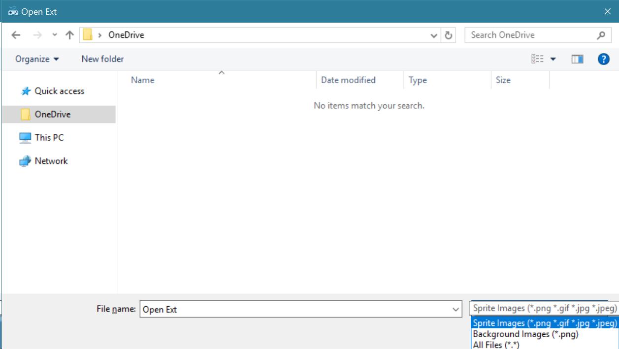 Save File Dialog Filter