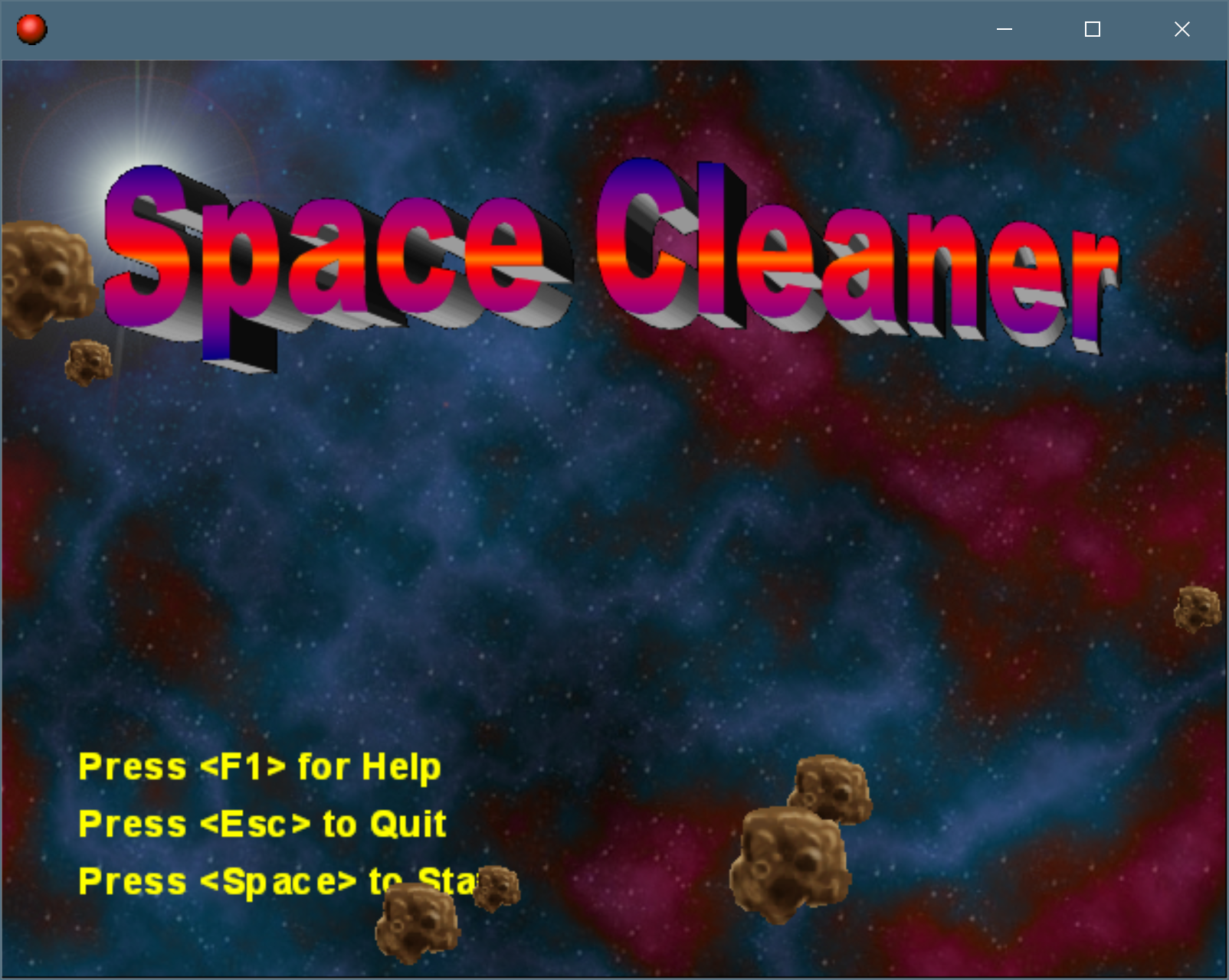 Space Cleaner Image Pad Branch