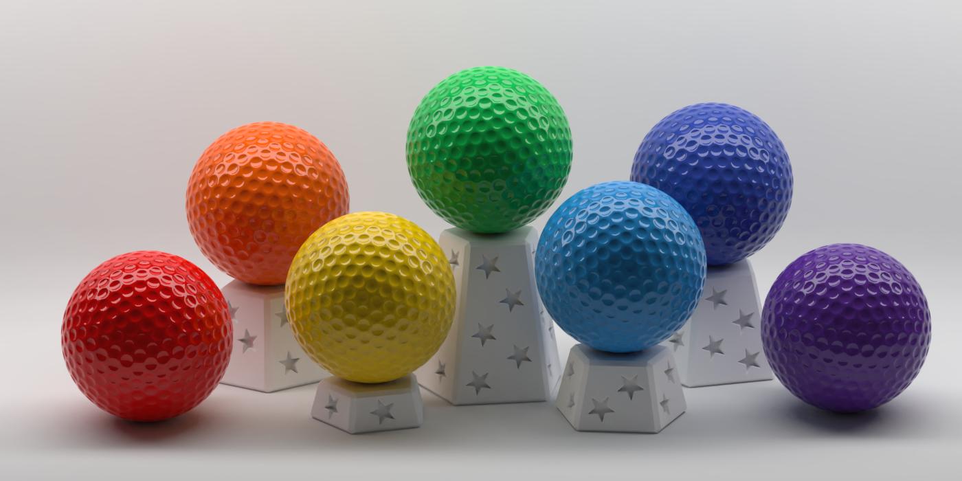 Mini Golf by Discord user scorpius