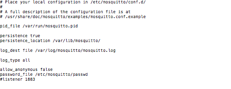 mosquitto - auto start not functioning - manual startup