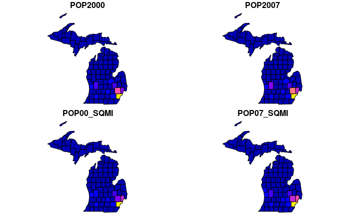 polygon plot