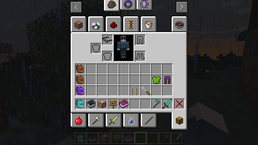Tiny Armor Rendering Inside Actual Armor (and minecraft