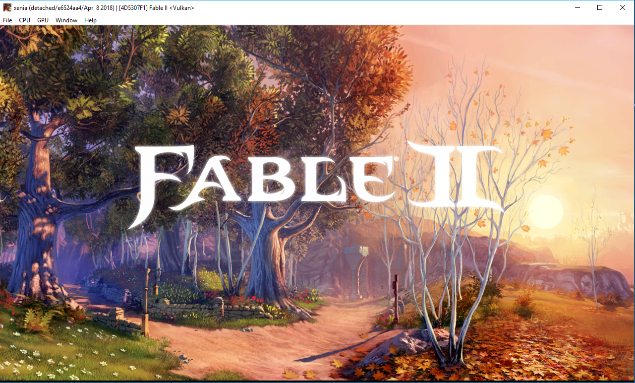 4D5307F1 - Fable 2 · Issue #205 · xenia-project/game