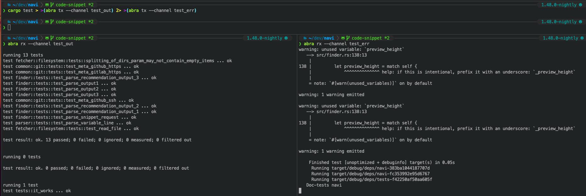 GitHub   denisidoro/abra Easily share data between terminal windows