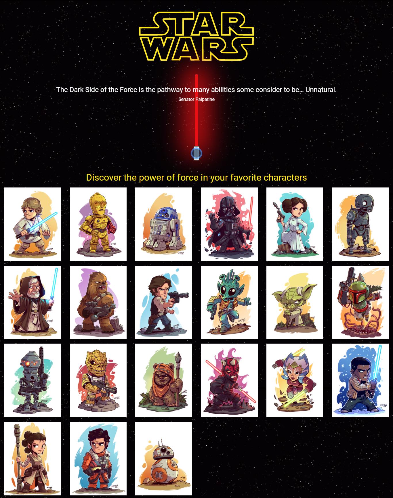 SWAPI (The Stars Wars API)
