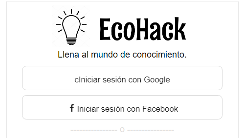 Red Social Eco Hack