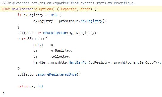 Prometheus exporter force using embedded httpserver · Issue #669
