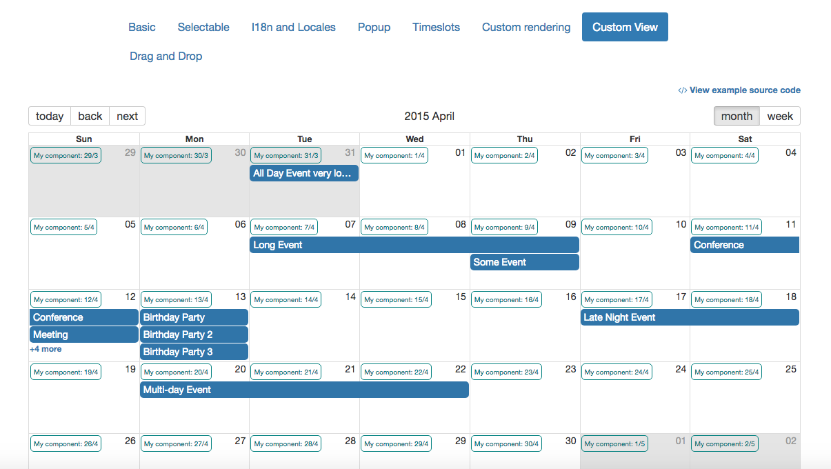 React Big Calendar.Customize Day Item In Month View Issue 644 Intljusticemission