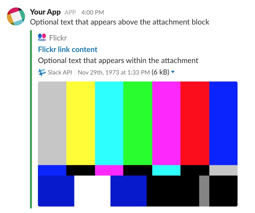 Message link unfurling · Issue #244 · slackapi/python