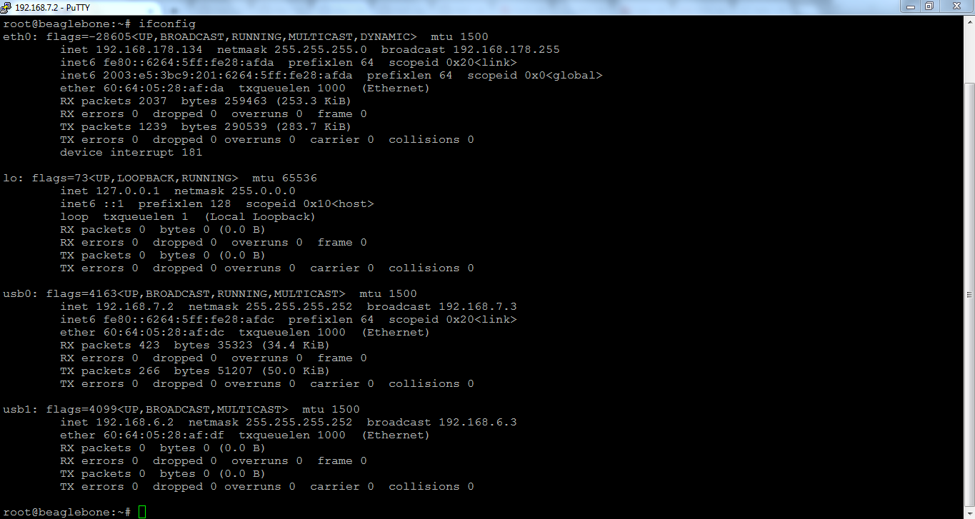 6LoWpan network: Not able to ping mesh nodes (cc2650) from