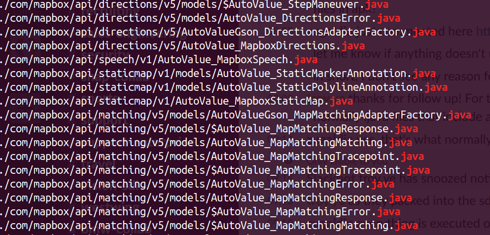 AutoValue java files could be found in the APK · Issue #706