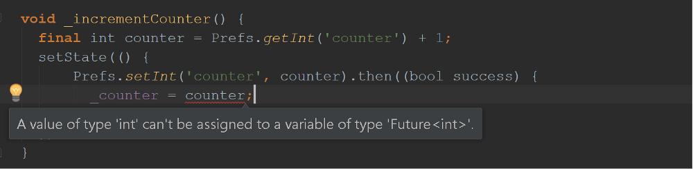 Future Error