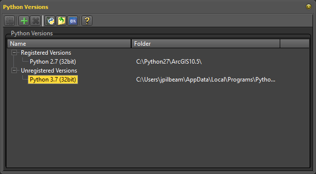 PyScripter could not load a Python engine · Issue #881