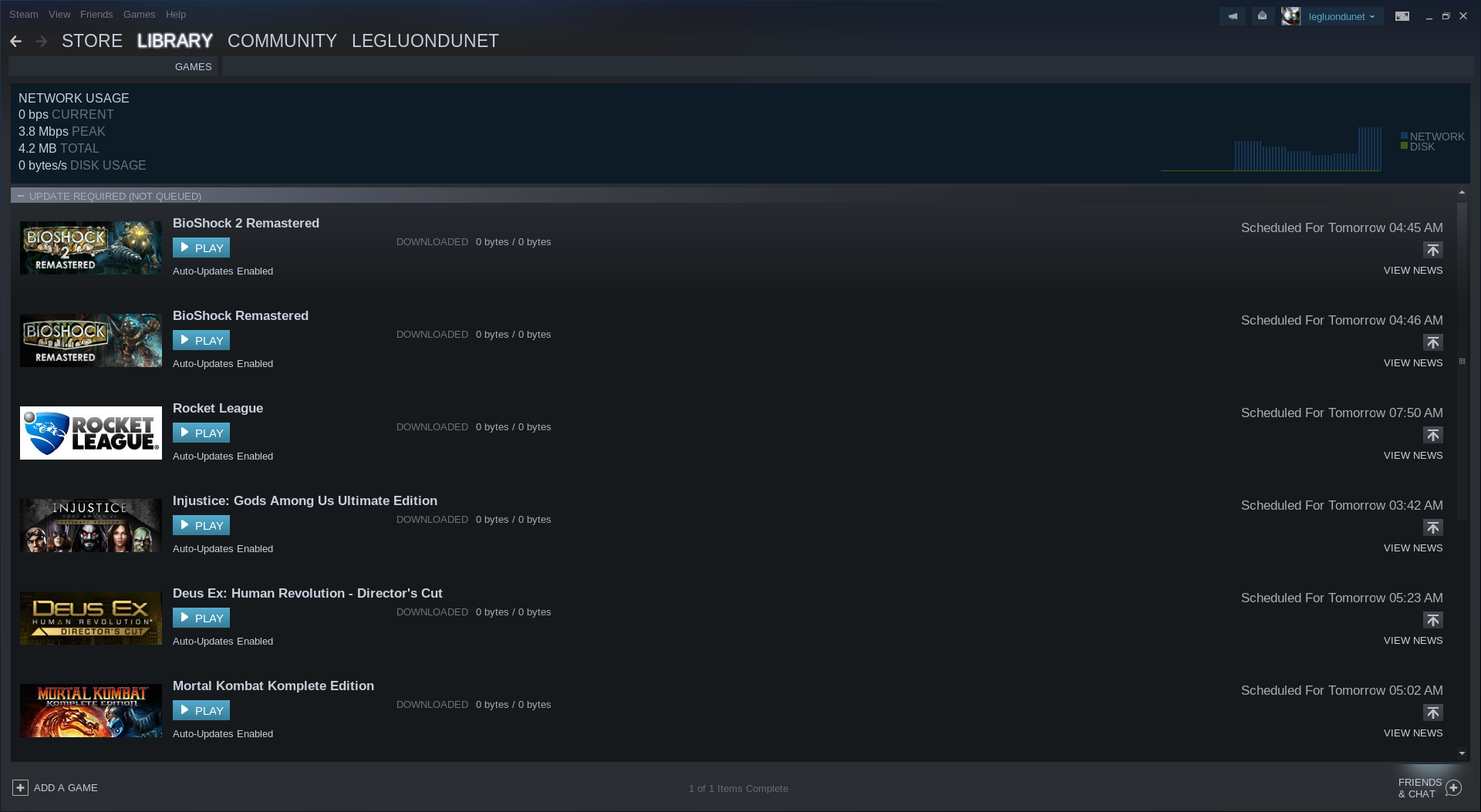 a lot of Steamplay games updates queued and they don't autoupdate