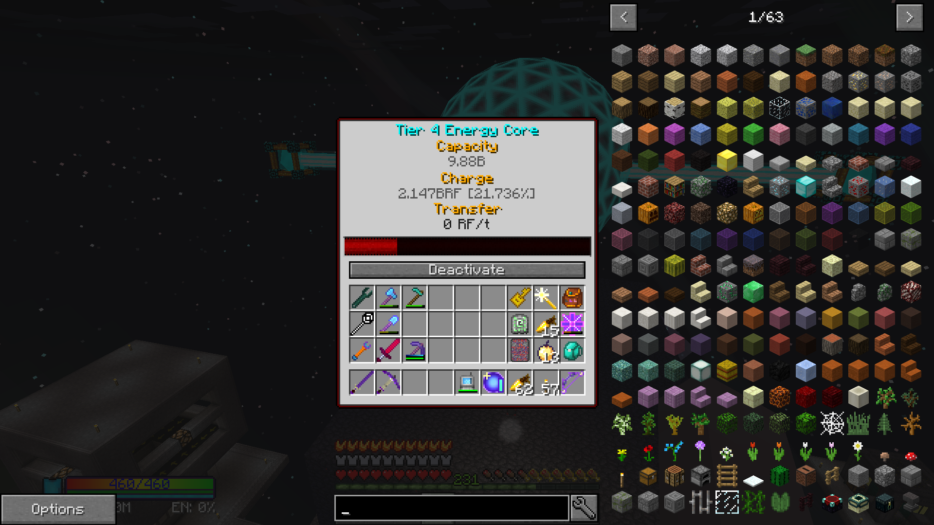 Draconic Energy Core not accepting flux power  · Issue #928