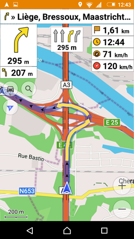 Improve lane guidance display · Issue #148 · osmandapp