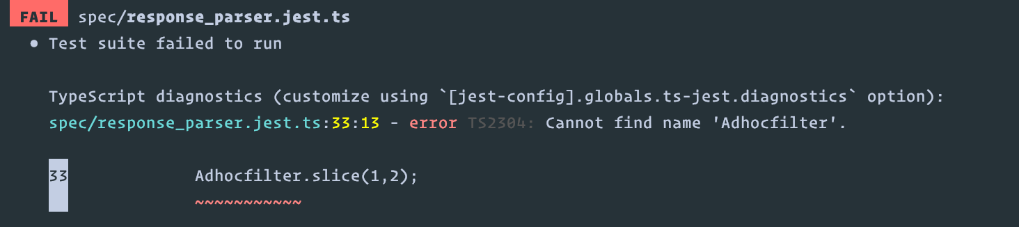 console log does not output when running tests · Issue #2441