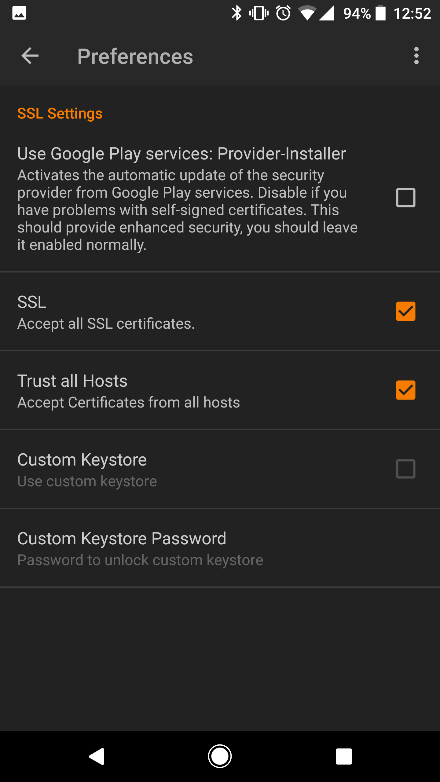 Ssl Not Working With Imported Self Signed Ca Issue 354
