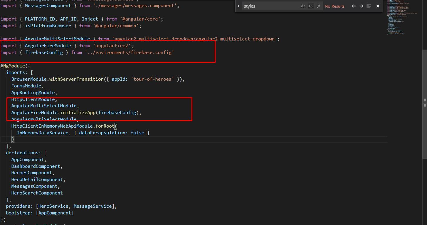ERROR in  /node_modules/angularfire2/angularfire2 js Module not
