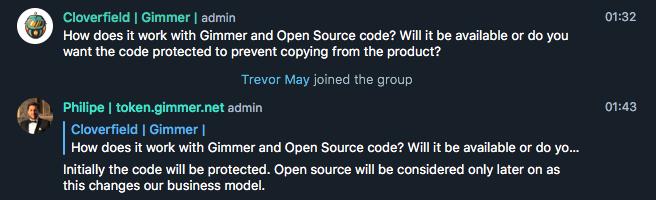 gimmer-code