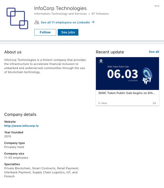 linkedin-infocorp-technlologies