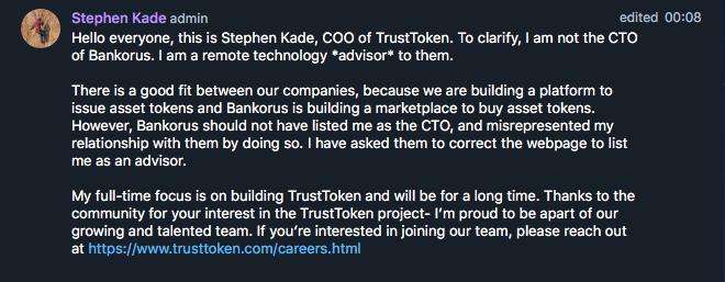 trusttoken-stephen-kade-update