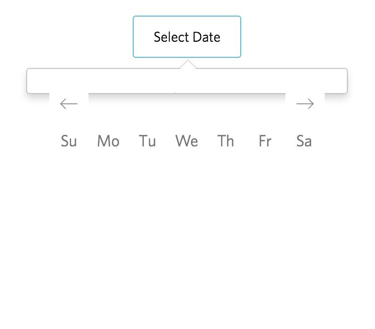 DayPickerSingleDateController: Dates & Month Not being