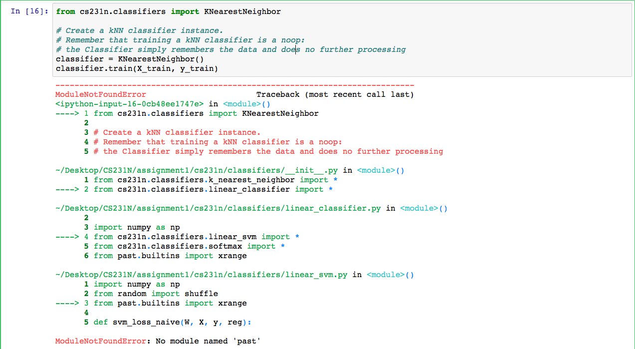 Import error · Issue #2 · madalinabuzau/cs231n-convolutional