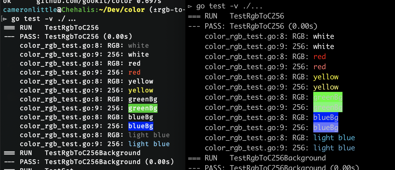 Add Utility To Convert From Rgb Ansi