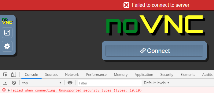 Vnc encrypt -SecurityTypes=VeNCrypt,TLSVnc · Issue #1230 · novnc