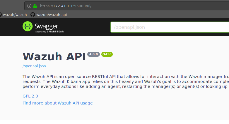 API: Deployment - Use uWSGI server to deploy wazuh API in