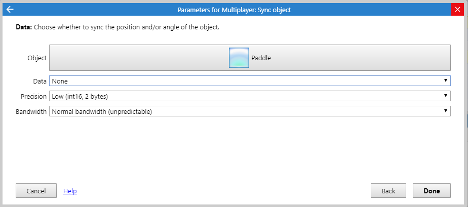 Multiplayer Sync with **None** has precision · Issue #2345 · Scirra