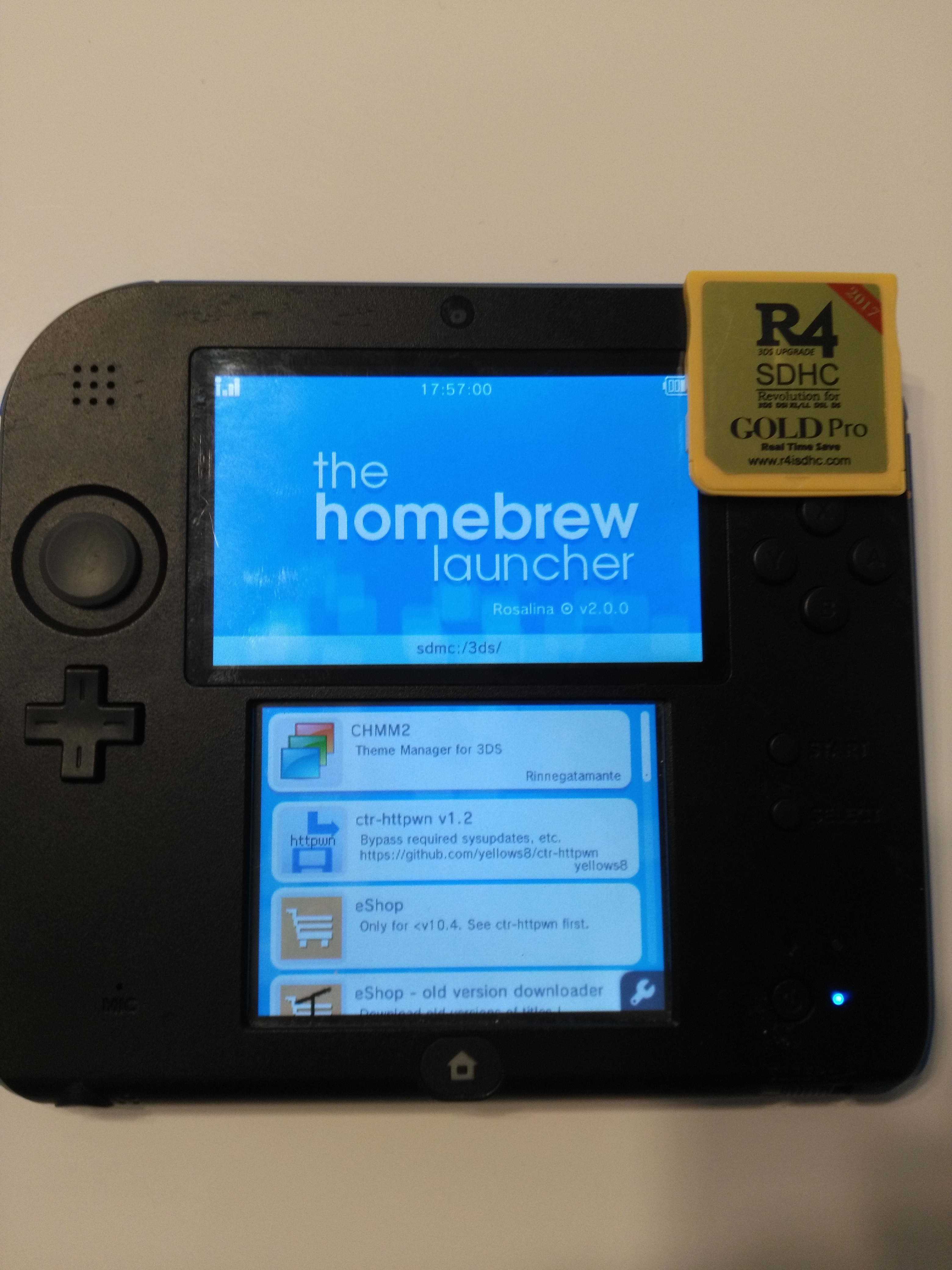 R4iSDHC Gold Pro support? · Issue #26 · ntrteam/ds_ntrboot_flasher