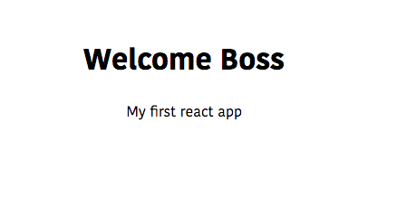 default props in react