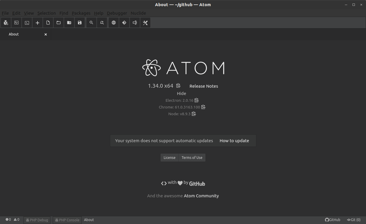 atom about