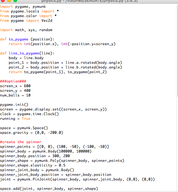 ImportError: cannot import name 'Vec2d' · Issue #133 · viblo/pymunk