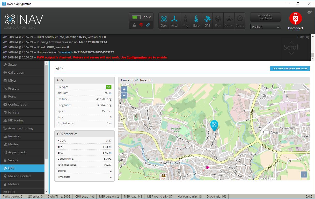 GPS count · Issue #3788 · iNavFlight/inav · GitHub
