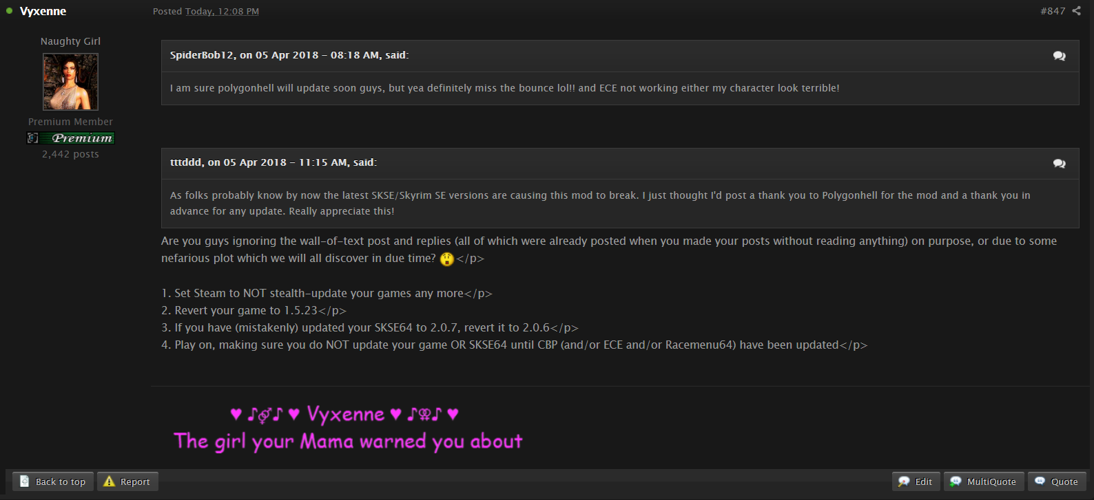 Multi-Quote Replies Are Unattributed On Mod-Page Post · Issue #645