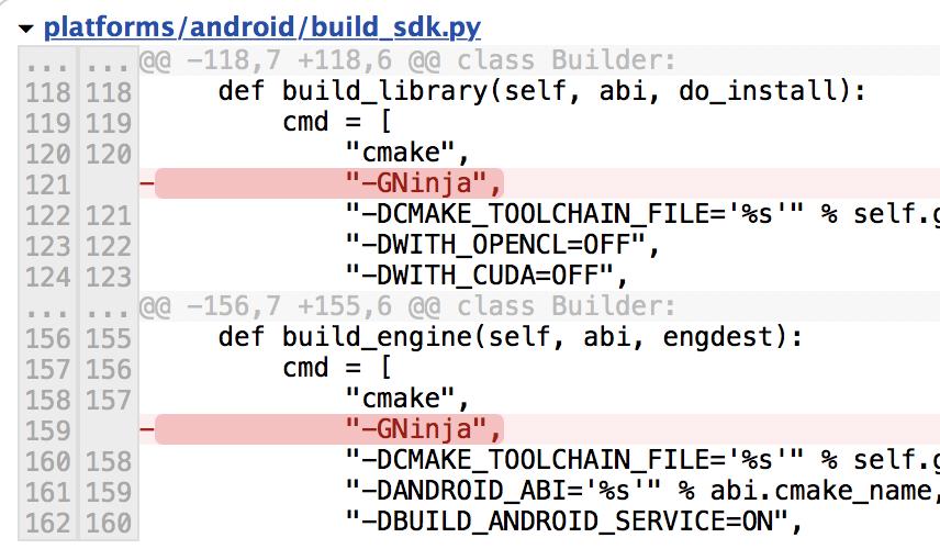 Explaination for build_sdk py · Issue #10448 · opencv/opencv · GitHub