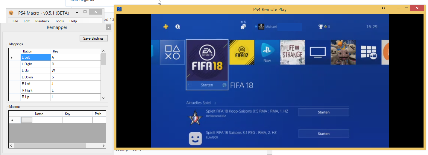 PS4 Remote Play not detecting emulated controller · Issue #8