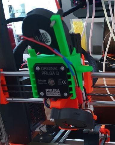 MK3S - MMU2S 3 7 0 - 1 0 5 Extruder motor very very hot