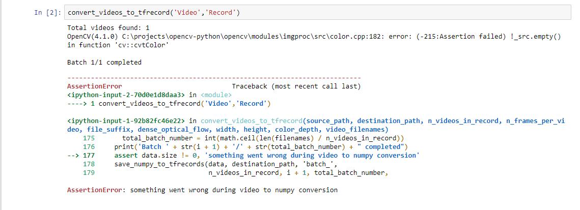 OpenCV(3 4 3) /io/opencv/modules/imgproc/src/color cpp:181
