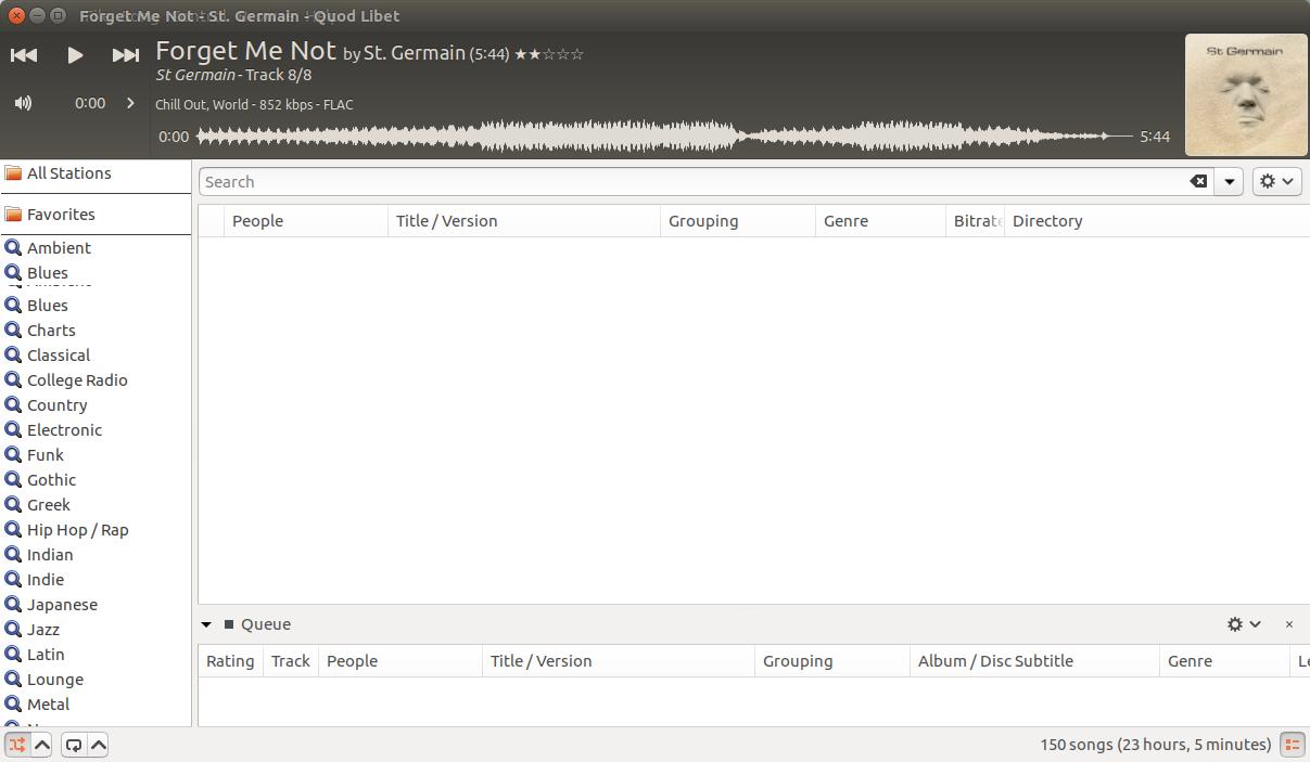 Soundcloud / iradio / file browser: rendering of separators