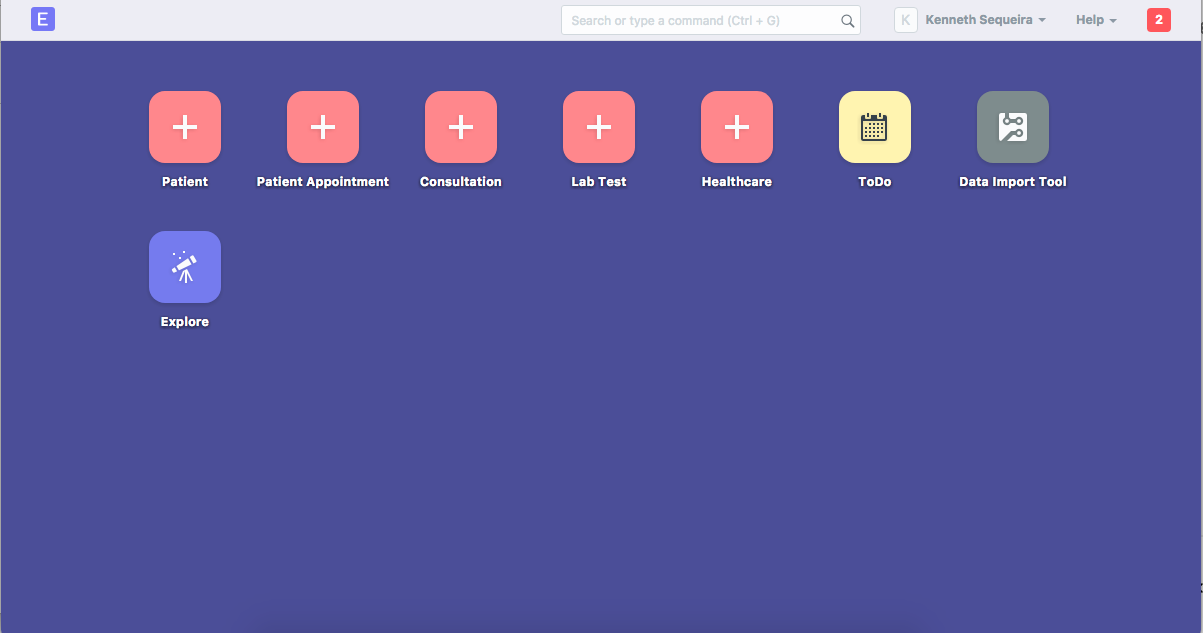 HealthCare Module - Add Icons · Issue #11838 · frappe