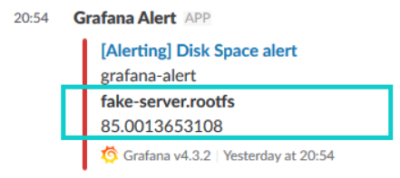 Feature request] Formatted metrics in alerts · Issue #14592