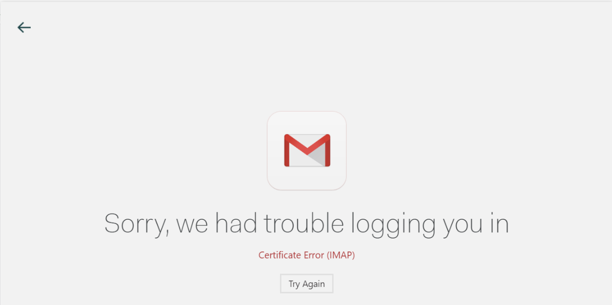 Gmail Sync problem · Issue #1066 · Foundry376/Mailspring · GitHub