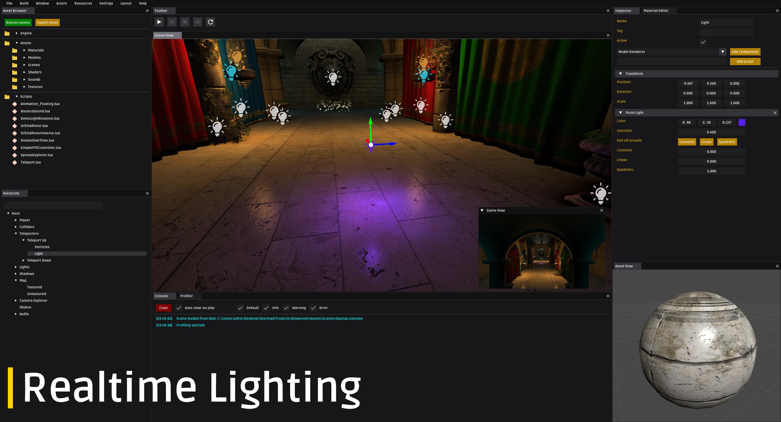 Realtime Lighting