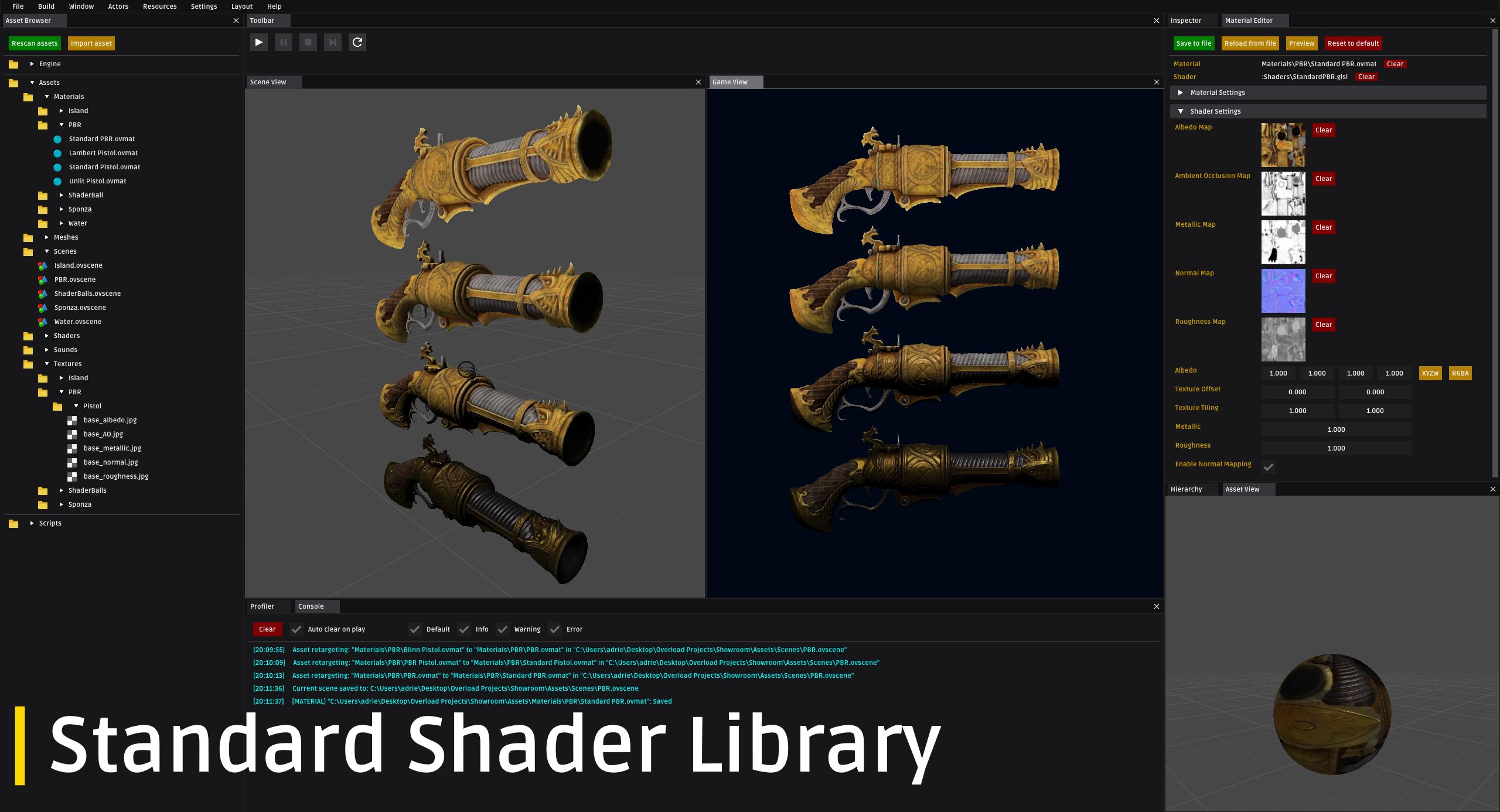 Standard Shader Library